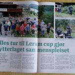 God omtale av Lerum Cup i NST